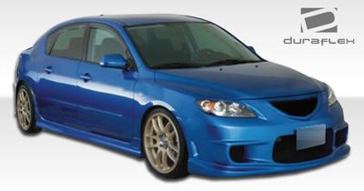 Mazda 3 4DR I-Spec Duraflex Front Body Kit Bumper 2004-2009