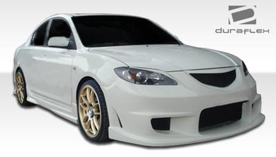 Mazda 3 4DR I-Spec Duraflex Full 4 Pcs Body Kit 2004-2009