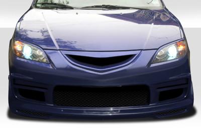 Mazda 3 4DR K-2 Duraflex Front Body Kit Bumper 2004-2009
