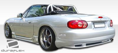 Mazda Miata Wizdom Duraflex Rear Body Kit Bumper 1998-2005