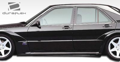 Mercedes 190 Evo 2 Duraflex Side Skirts for Wide Body Kit 1984-1993