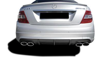 Mercedes C Class C63 w/ PDC V1 Look Vaero Rear Body Kit Bumper 2008-2014