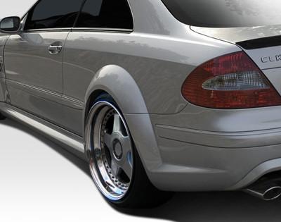 Mercedes CLK Black Series Duraflex Wide Fender Flares 2003-2009