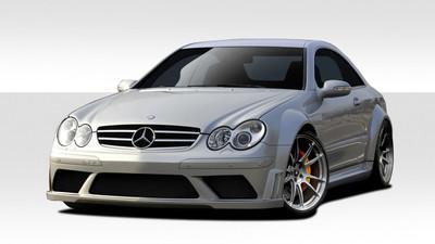 Mercedes CLK Black Series Look Duraflex Full 8 Pcs Wide Body Kit 2003-2009