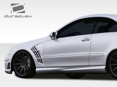 Mercedes CLK W-1 Duraflex Body Kit- Fenders 2003-2009