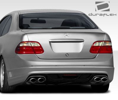 Mercedes CLK W-1 Duraflex Rear Body Kit Bumper 1998-2002