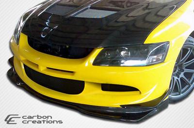 Mitsubishi Evolution VR-S Carbon Fiber Front Bumper Lip Body Kit 2003-2005