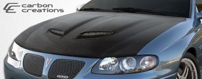 Pontiac GTO CV8-Z Carbon Fiber Creations Body Kit- Hood 2004-2006