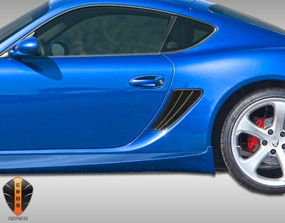 Porsche Cayman Eros Version 1 Duraflex Air Ducts 2005-2012