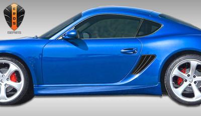 Porsche Cayman Eros Version 1 Duraflex Side Skirts Body Kit 2005-2012
