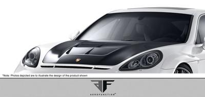 Porsche Panamera AF-1 Aero Function Body Kit- Hood 2010-2015