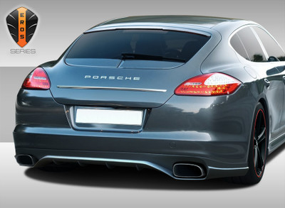 Porsche Panamera Eros Version 2 Duraflex Rear Body Kit Bumper 2010-2013