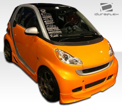 Smart ForTwo FX Duraflex Front Bumper Lip Body Kit 2008-2015