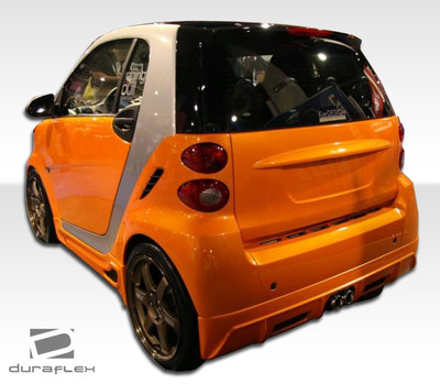 Smart ForTwo FX Duraflex Rear Body Kit Bumper 2008-2015