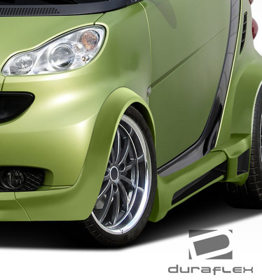 Smart ForTwo GT300 Duraflex Body Kit- Wide Fenders 2008-2015