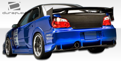 Subaru Impreza 4DR C-GT Duraflex Rear Wide Body Kit Bumper 2004-2005