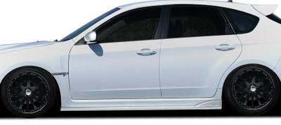Subaru Impreza 4DR C-Speed 2 Duraflex Side Skirts Body Kit 2008-2014