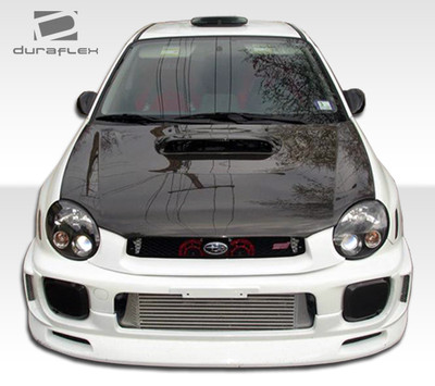 Subaru Impreza 4DR C-Speed Duraflex Front Bumper Lip Body Kit 2002-2003