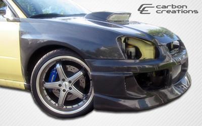 Subaru Impreza 4DR OEM Carbon Fiber Creations Body Kit- Fenders 2004-2005