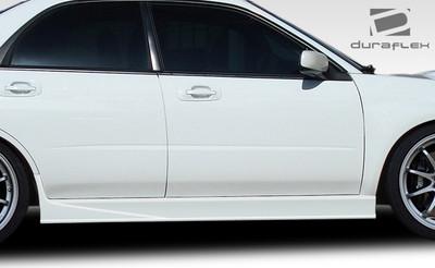 Subaru Impreza Z-Speed Duraflex Side Skirts Body Kit 2002-2007