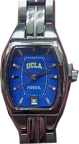 UCLA Bruins Fossil Watch Womens Ladies Three Hand Date Li3043