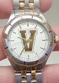 Vanderbilt University Watch Gold  Game Time General Manager watch
