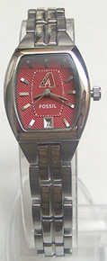 Arizona Diamondbacks Fossil Watch Womens Three Hand Date MLB1021