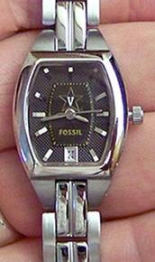 Vanderbilt University Commodores Watch Fossil Ladies Three Hand Date