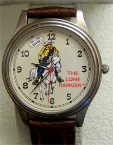 The Lone Ranger Fossil Watch set with Bandana and Tin
