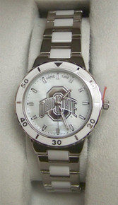 Ohio State Buckeyes Mother of Pearl Watch GameTime Womens COL-PEA-OSU