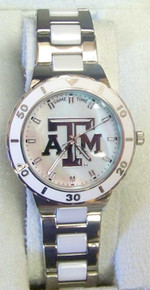 Texas A&M Aggies Game Time Pearl watch Ladies MOP GameTime COL-PEA-TXA