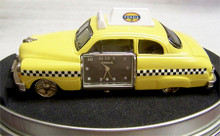 Fossil Taxi Cab Desk Clock. Vintage Novelty LE Collectible