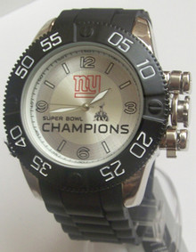 New York Giants Super Bowl XLVI Watch Mens, Game Time New