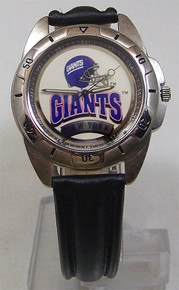 New York Giants Fossil Mens Vintage Watch 1995 Wristwatch
