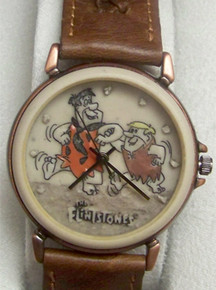 Flintstones Watch Fred and Barney Fossil Collectible Set