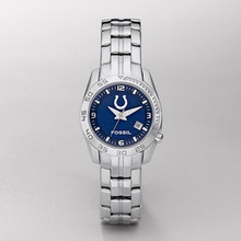 Indianapolis Colts Fossil Womens Sports watch NFL1100 with Date