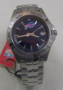 Buffalo Bills Fossil Mens Watch Three Hand Date Wristwatch NFL1118