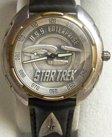 Fossil Star Trek Watch Uss Enterprise Collectible Series