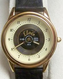 Fossil Elvis Presley Watch Set #3 Gold Record Wristwatch Li1416