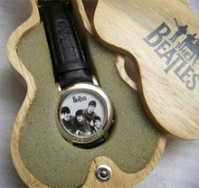 The Beatles I Want to Hold Your Hand Watch in Wooden Guitar Case