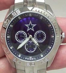Dallas Cowboys Fossil Watch Mens Multifunction II WristWatch NFL1167