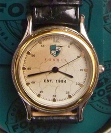 Fossil Collectors Est.1984 Commemorative Watch in Vintage Tin