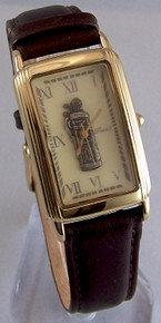 Fossil Golfer Watch Vintage Golf theme mens Golf Bag wristwatch SE1008