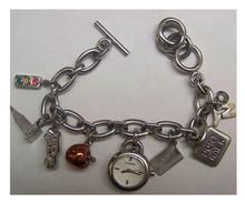 Fossil NYC New York City Charm Bracelet Watch ES-1344