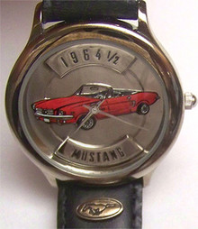 Ford Mustang 1964 1/2 Watch. Fossil Relic LE Collectors in Etched Box