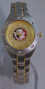 FSU Florida State Seminoles Fossil Watch Ladies Three Hand SS PR-5113
