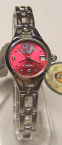 Fresno State Bulldogs Fossil Watch Womens, Ladies Wristwatch with Date