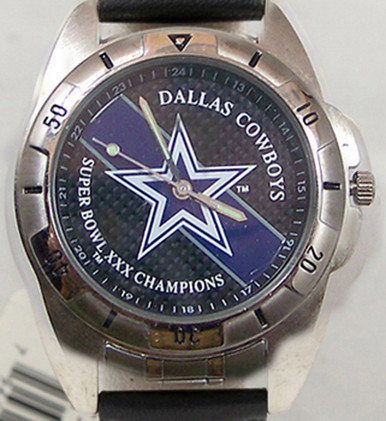 Dallas Cowboys Superbowl 30 Watch Fossil Super Bowl Mens