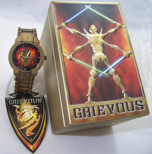 General Grievous Fossil Watch Star Wars Revenge of the Sith Wristwatch