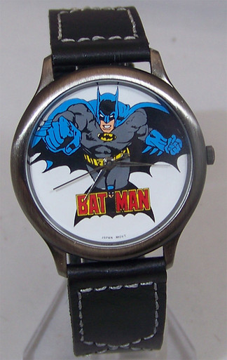 Fossil Batman Watch Comic Image Batman Collectible